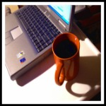 internet marketing business and coffee